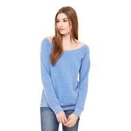 Bella + Canvas Ladies' Sponge Fleece Wide Neck Sweatshirt (AS-7501)