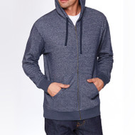 Next Level Adult Denim Fleece Full-Zip Hoody (AS-9600)