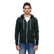 American Apparel Unisex Triblend Full-Zip Hoodie (AS-TRT497W)