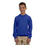 Gildan Youth Heavy Blend 50/50 Fleece Crew (AS-G180B)