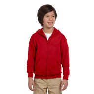 Gildan Youth Heavy Blend 50/50 Full-Zip Hood (AS-G186B)