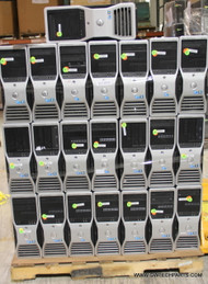 69X DELL PRECISION / POWEREDGE WORKSTATIONS. TESTED WHOLESALE LOT