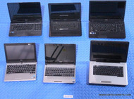 """270X MIXED BRAND LAPTOPS. MIXED CPU TYPES. """"C"""" GRADE - MISSING PARTS / FUNCTIONALITY ISSUES"""