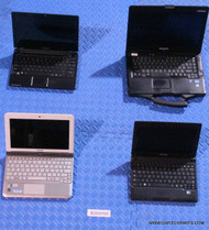 "104X MIXED BRANDS NETBOOK STYLE LAPTOPS. ""SCREEN ISSUES / FUNCTIONALITY ISSUES"