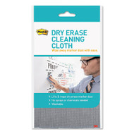 """Dry Erase Cleaning Cloth, Fabric, 10 5/8""""w x 10 5/8""""d"""