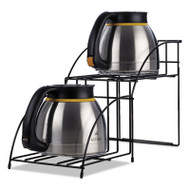 Bolt Thermal Carafe Wire Rack, Black, 8 2/5 x 21 x 13