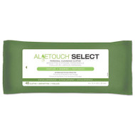 Aloetouch Select Premium Personal Cleansing Wipes, 8 x 12, 48/Pack, 48 Pk/Ctn