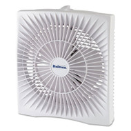 "10"" Personal Size Box Fan, Plastic, White"