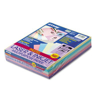 Array Colored Bond Paper, 20lb, 8-1/2 x 11, Assorted Pastels, 500 Sheets/Ream