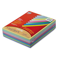 Array Card Stock, 65 lb., Letter, Assorted Colors, 250 Sheets/Pack