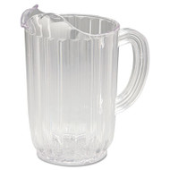 Bouncer Plastic Pitcher, 32oz, Clear