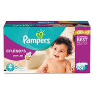 Cruisers Diapers, Size 4: 22 - 37 lbs, 124/Carton