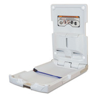 DryBaby Baby Changing Station, Vertical Mount, 19 x 34, Gray