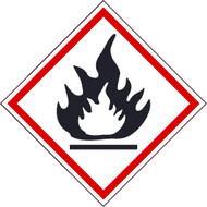 FLAMMABLE GHS LABEL