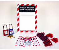 CIRCUIT BREAKER LOCKOUT CENTER - REPLACEMENT ITEMS