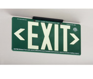 100FT GREEN EXIT SIGN