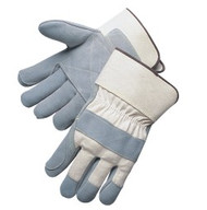 """Double leather palm - 2 3/4"""" safety cuff - S-XL"""