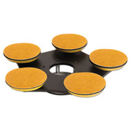 """Cleaning/Abrasion Drive Plate, 20"""", For Use with Sanding Buffers"""
