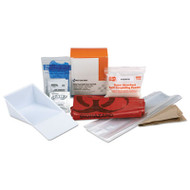 "BBP Spill Cleanup Kit, 3.625"" x 4.312"" x 2.25"""