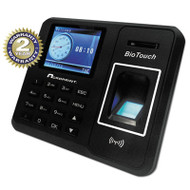BioTouch Time Clock, Hours/Minutes/Seconds, 6 x 1 1/2 x 5