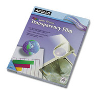 Color Laser Transparency Film w/o Sensing Stripe, Letter, Clear, 50/Box