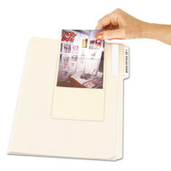 Peel & Stick Photo Holders for 3-1/2 x 5 & 4 x 6 Photos, 4-3/8 x 6-1/2, Clear