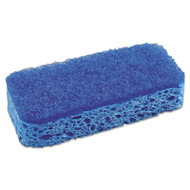 """All Surface Scrubber Sponge, 2 1/2 x 4 1/2, 1"""" Thick, Blue, 12/Carton"""