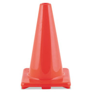 "Hi-Visibility Vinyl Cones, 18"" Tall, Orange"