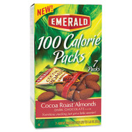 100 Calorie Pack Dark Chocolate Cocoa Roast Almonds, .63oz Packs, 7/Box