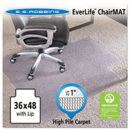 """36x48 Lip Chair Mat, Performance Series AnchorBar for Carpet up to 1"""""""