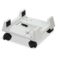 Mobile CPU Stand, 8-3/4w x 10d x 5h, Light Gray