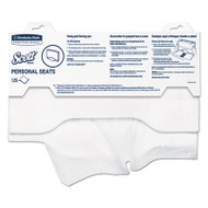"""Personal Seats Sanitary Toilet Seat Covers, 15"""" x 18"""", 125/Pack, 3000/Carton"""