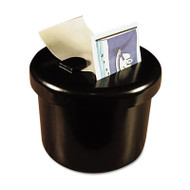 """Ultimate Stamp Dispenser, One 100 Count Roll, Black, Plastic, 2"""" Dia. X 1 11/16"""""""