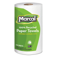 100% Recycled Roll Towels, 8 3/4 x 11, 210 Sheets, 12 Rolls/Carton