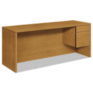 10500 Series 3/4-Height Right Pedestal Credenza, 72w x 24d x 29-1/2h, Harvest