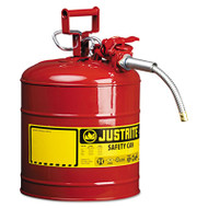 """AccuFlow Safety Can, Type II, 5gal, Red, 5/8"""" Hose"""