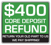REFUNDABLE CORE DEPOSIT $400