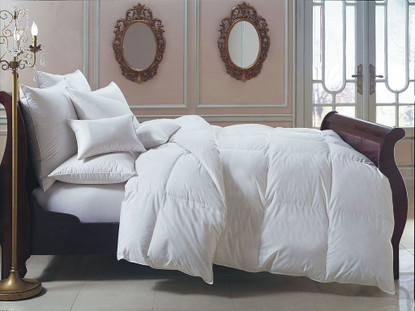 lightweight down comforter