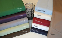 Egyptian Cotton 400 Thread Count Solid Pillowcase Sets - King