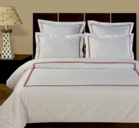Amy Embroidered 10PC Egyptian cotton Bed in A Bag