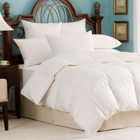 Andesia 650 Fill Power Hungarian White Goose Down All Year Comforter - OS Queen