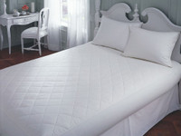 "all cotton mattress pad 20"" depth"
