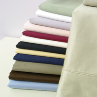 Egyptian Cotton Solid 550 Thread Count Full Sheet Set