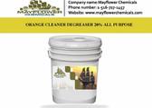 ORANGE CLEANER DEGREASER 20% ALL PURPOSE