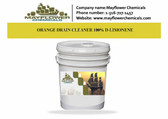ORANGE DRAIN CLEANER 100% D-LIMONENE