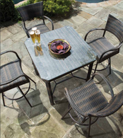 Tutto Outdoor Furniture Set All-Weather Wicker Double Mocha