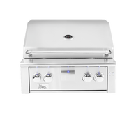 "Alturi 30"" Built-in Grill Red Brass Burners Liquid Propane"
