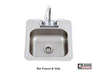 Lion Bar Faucet & Sink 54167