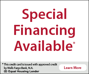 Special Financing Available Wells Fargo