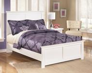 Bostwick Shoals White Full Panel Bed